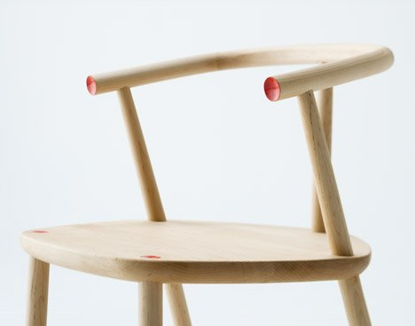 Five wooden furniture by Claesson Koivisto Rune for Matsuso T
