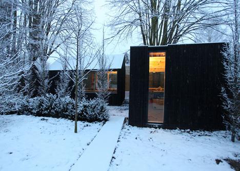 Garden workshop in Cambridge by Rodic Davidson Architects