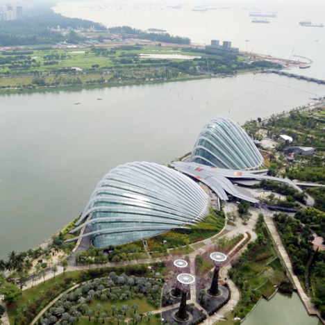 Movie Wilkinson Eyre S Gardens By The Bay In Singapore Architecture