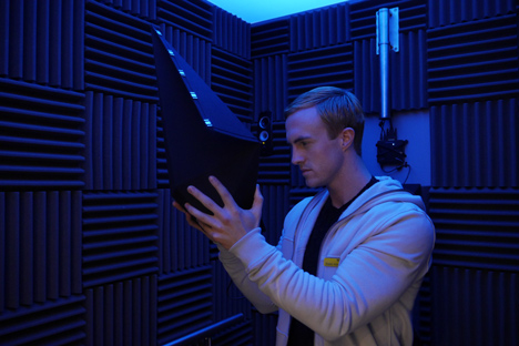 Gareth Pugh and Inition Monolith virtual reality installation at Selfridges