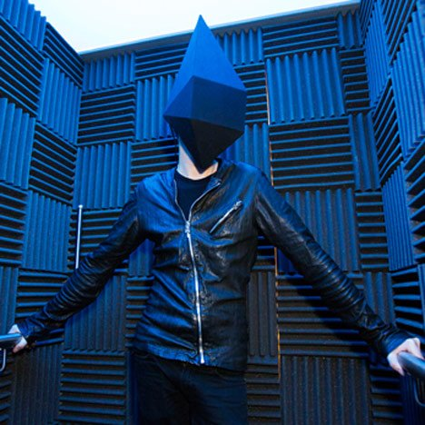 """Immersive virtual world"" by Gareth Pugh<br /> and Inition installed at Selfridges"
