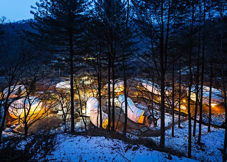 Glamping in Korea by ArchiWorkshop