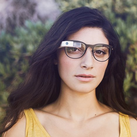 Google glass frames and shades