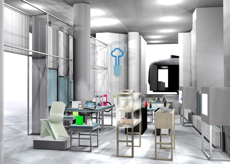 Imagine Shop at Selfridges curated by Dezeen