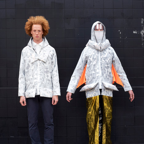 Jacket to help prepare for the end of the world by Marie-Elsa Batteux Flahault