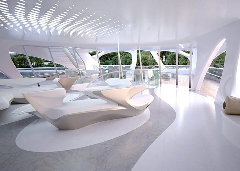 Shoe boutique stuart weitzman and zaha hadid on pinterest for Interior design zaha hadid