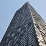 Tilting glass attraction proposed for observation deck of Chicago's John Hancock Center