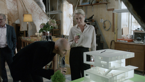 Julien de Shmedt designs museum for Danish television drama_dezeen_1