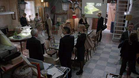 Julien de Shmedt designs museum for Danish television drama_dezeen_3