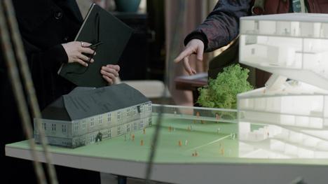 Julien de Shmedt designs museum for Danish television drama_dezeen_4