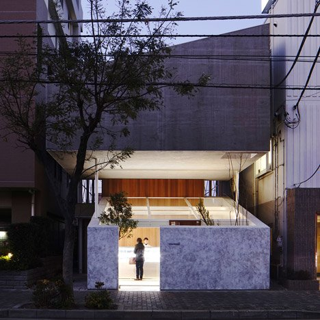 Yuko Nagayama floats an apartment<br /> above a patisserie in Japan