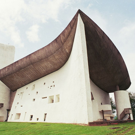 Image result for church designed by le corbusier