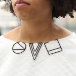 3D-printed jewellery by Maria Jennifer Carew clips onto garments