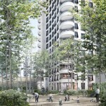 Herzog & de Meuron unveil first buildings of Lyon masterplan