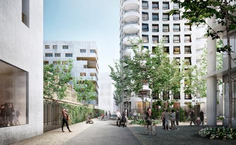 Lyon Confluence by Herzog & de Meuron
