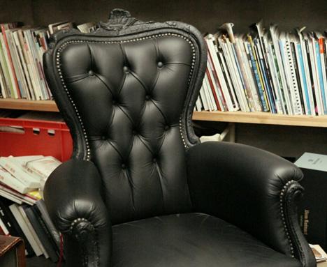 Maarten Baasu0027 Original Smoke Chair