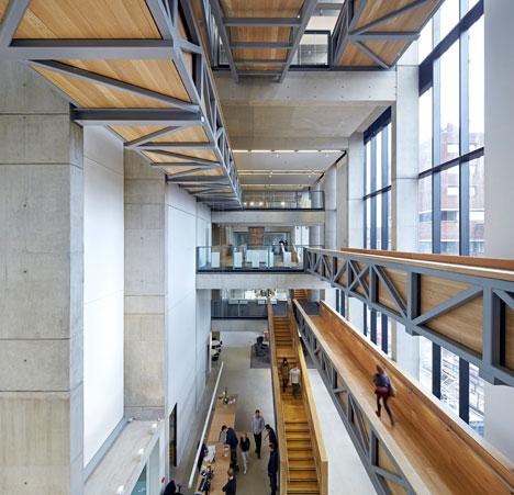 Manchester School Of Art Extension By Feilden Clegg Bradley Studios