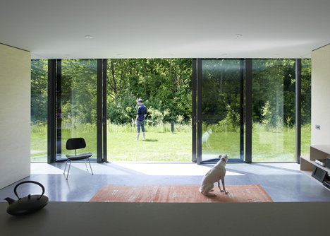 Mirror House by Johan Selbing and Anouk Vogel