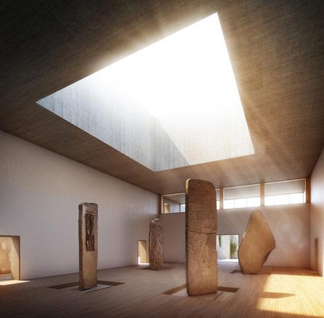 Museo Maya de America by Harry Gugger Studio andover,under