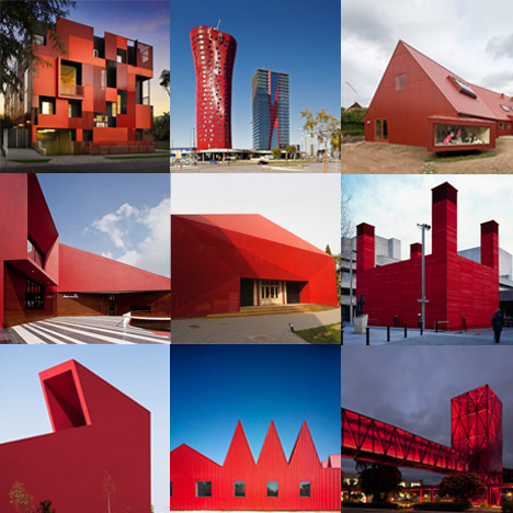 New Pinterest Board: red buildings