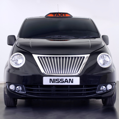 Nissan's revised design for London's black cabs