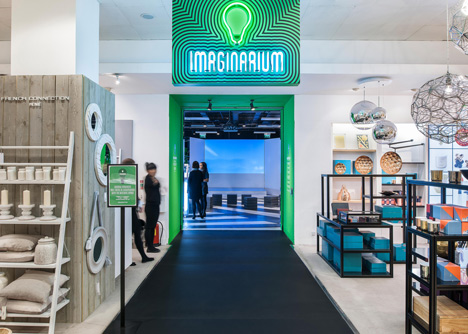 OMA's Imaginarium hosts lectures in Selfridges' basement