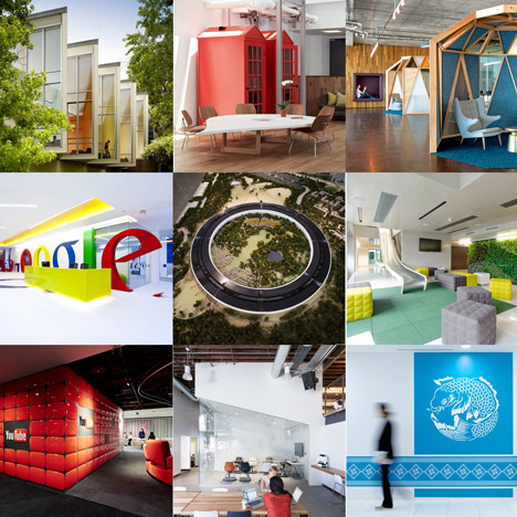 New Pinterest board | Technology companies | Architecture | Dezeen