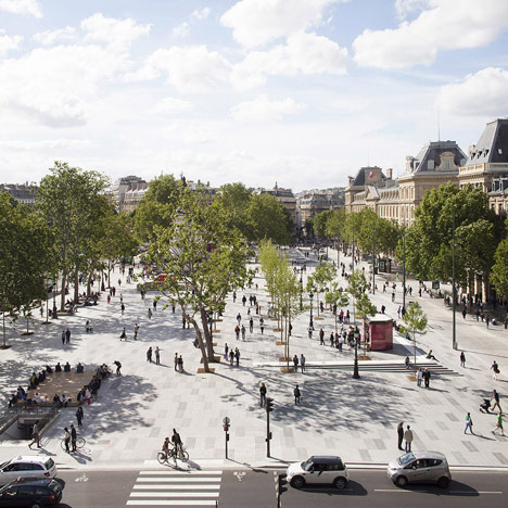 Place de la Republique and Monde Medias Pavilion by TVK_dezeen_1sq