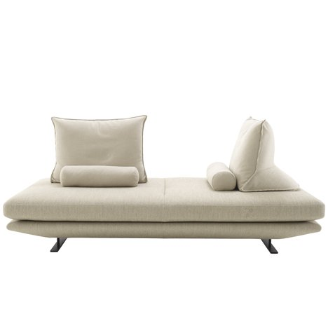 Prado sofa with movable backrest cushions by Christian Werner for Ligne Roset