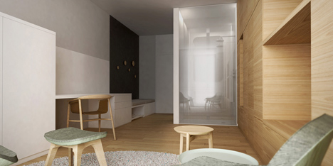 Apartment 6 by Estudio.Entresitio for Ronald McDonald charity house