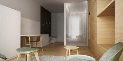 Apartment 6 by Estudio.Entresitio for Ronald McDonald charity house