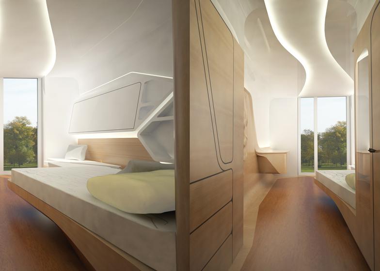 Apartment 5 by Zaha Hadid
