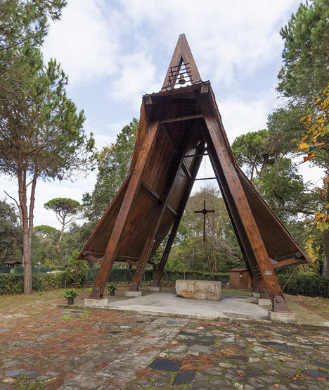 Sant'Anna's Chapel recovery by Studio Galantini
