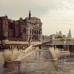 Swimming pools for London's River Thames by Studio Octopi