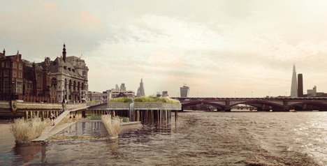 Thames Bath Project by Studio Octopi