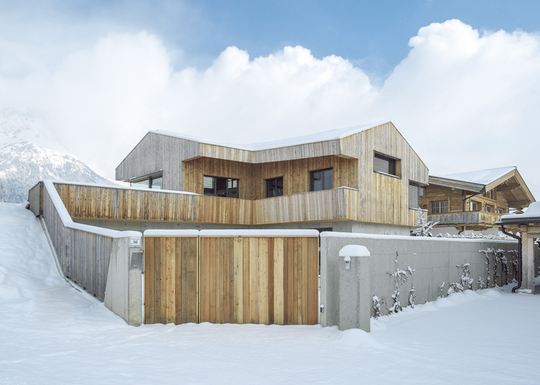 Superb House In The Alps By Mostlikely Based On An Agricultural Barn Great Pictures