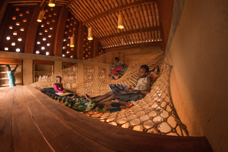awesome childrenus library in africa with rammed earth walls by bc with childrens hammock  childrens hammock  simple pinterest u the worldus catalog of ideas      rh   gallery rushome