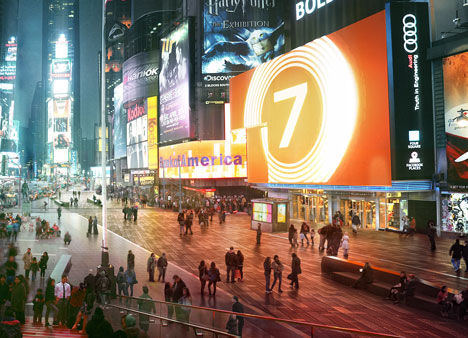 Snøhetta completes phase one of Times Square transformation