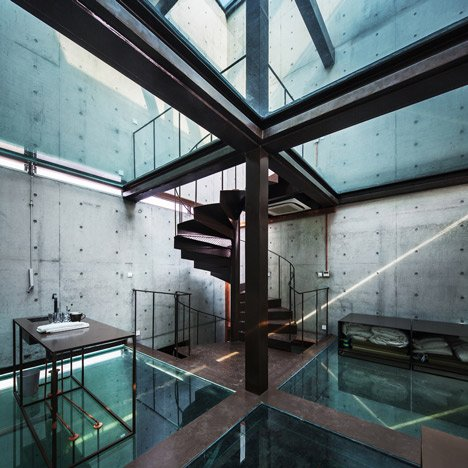 Vertical Glass House by Atelier FCJZ