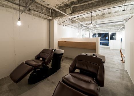 Vine Hair Salon by Sohei Arao of Sides Core