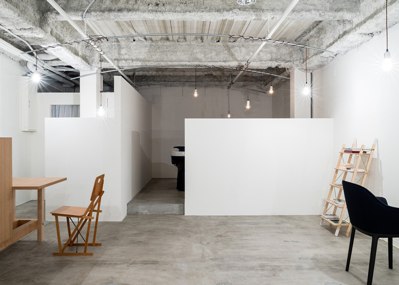 facing north with gracia: PLACES | Industrial salon in Japan