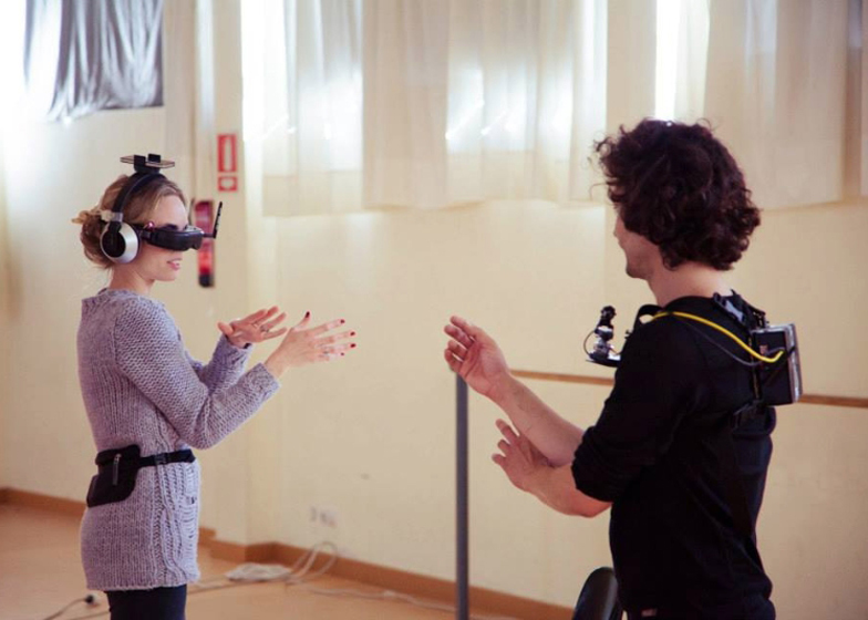 Virtual reality headset by BeAnotherLab