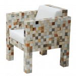 Piet Hein Eek uses offcuts from his scrap wood furniture to make Waste Waste 40x40
