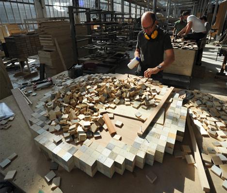 Waste Waste 40 40 by Piet Hein Eek