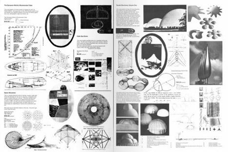 Whole Earth Catalog page spread