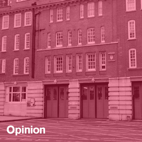 London fire stations closing opinion Kieran Long