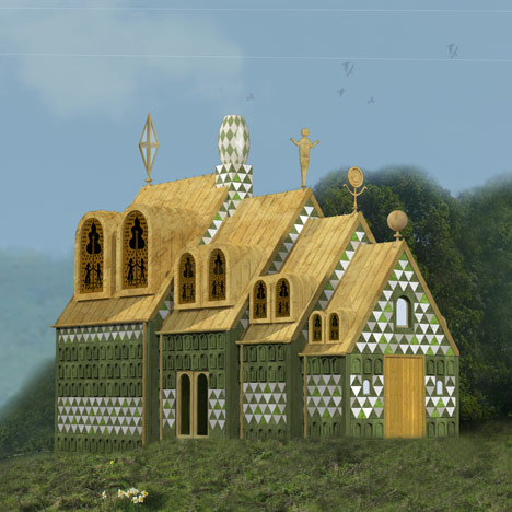 dezeen_A House for Essex by FAT and Grayson Perry