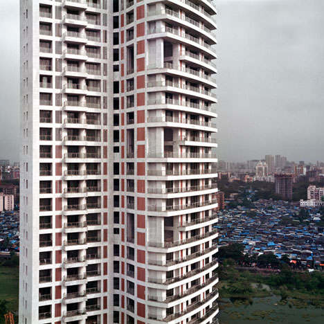 Life on a New High: Mumbai skyscrapers photographed by Alicja Dobrucka