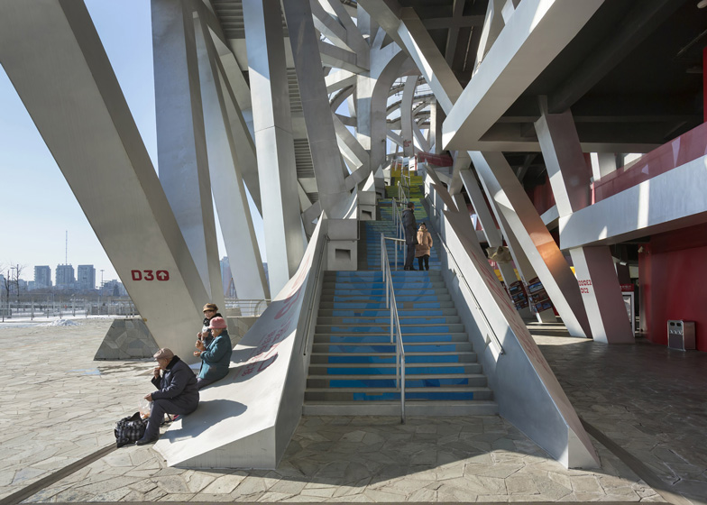 Buildings in Use: Olympic Stadium by Herzog & de Meuron - photographed by Duccio Malagamba