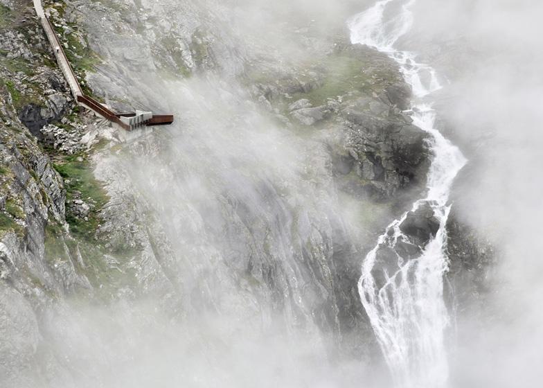 Winner: Trollstigen by Reiulf Ramstad Arkitekten - photographed by Ken Schluchtmann